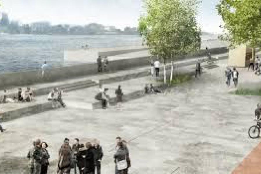 Start werken deelgebied Sint-Andries en Zuid van de Scheldekaaien