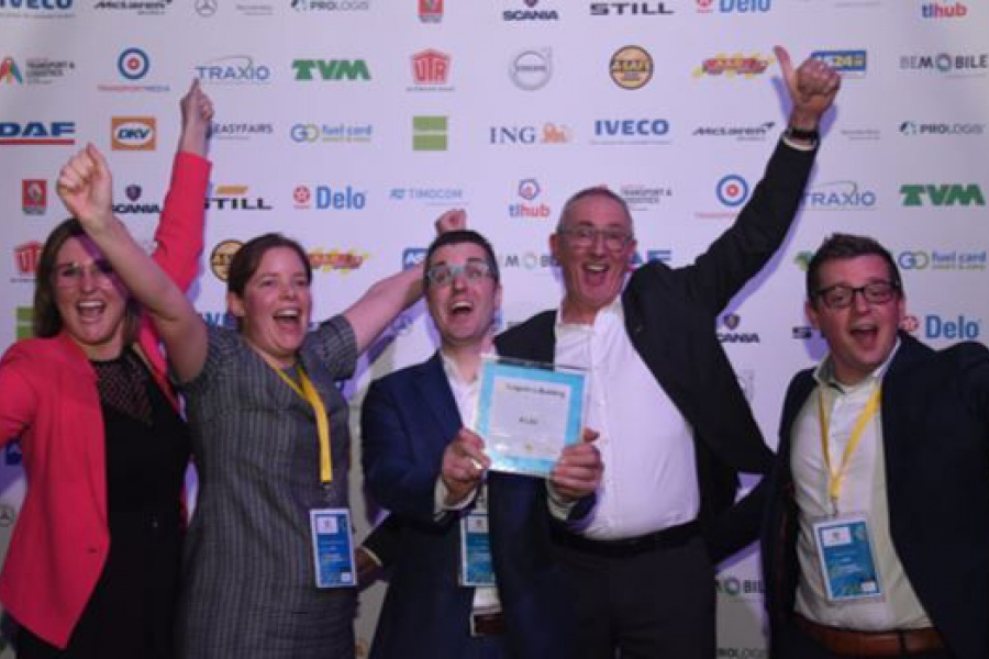 Partner Aldi wint Transport & Logistics Awards 2019