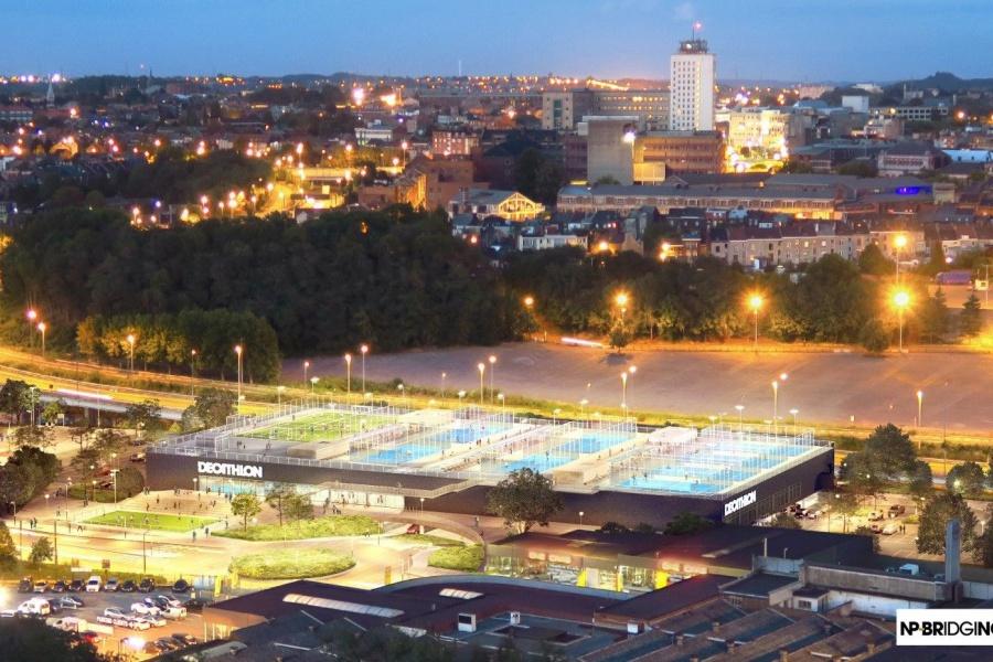 Decathlon ziet het groots in Charleroi