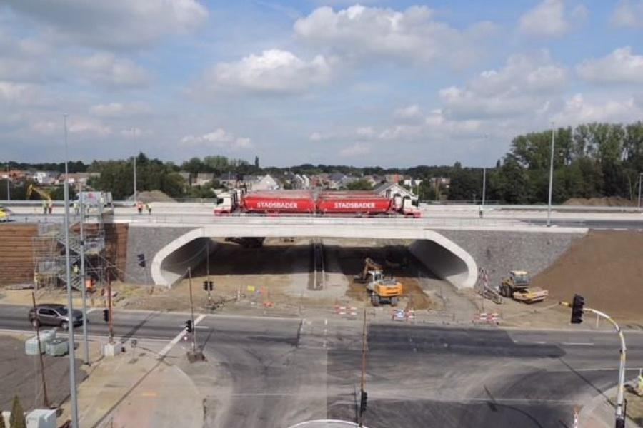 Groen licht voor opening integraalbrug Mechelen