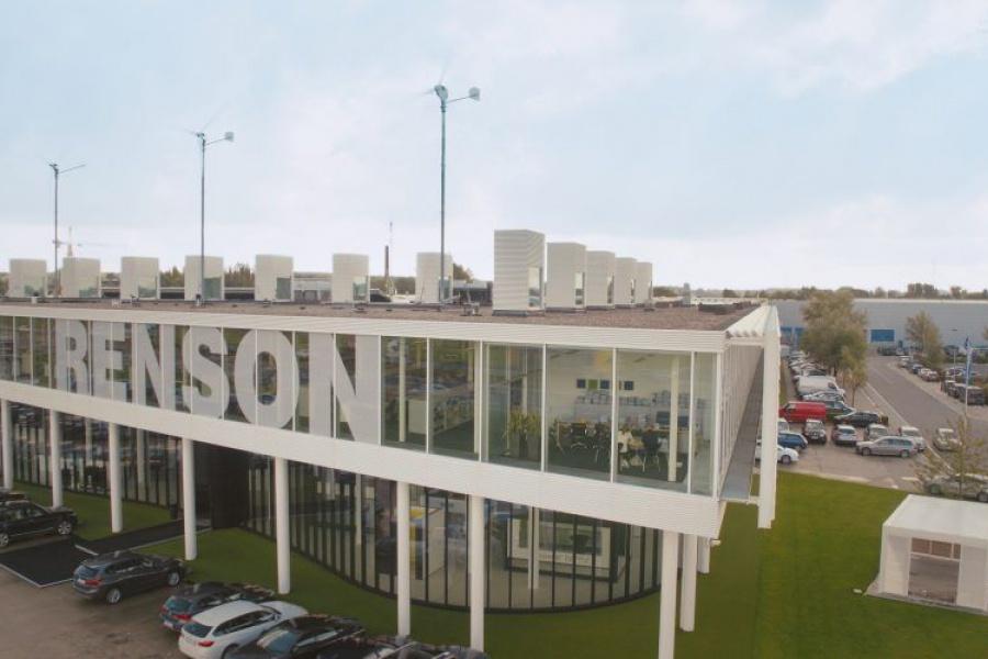 Stadsbader legt fundering voor tweede hub Renson