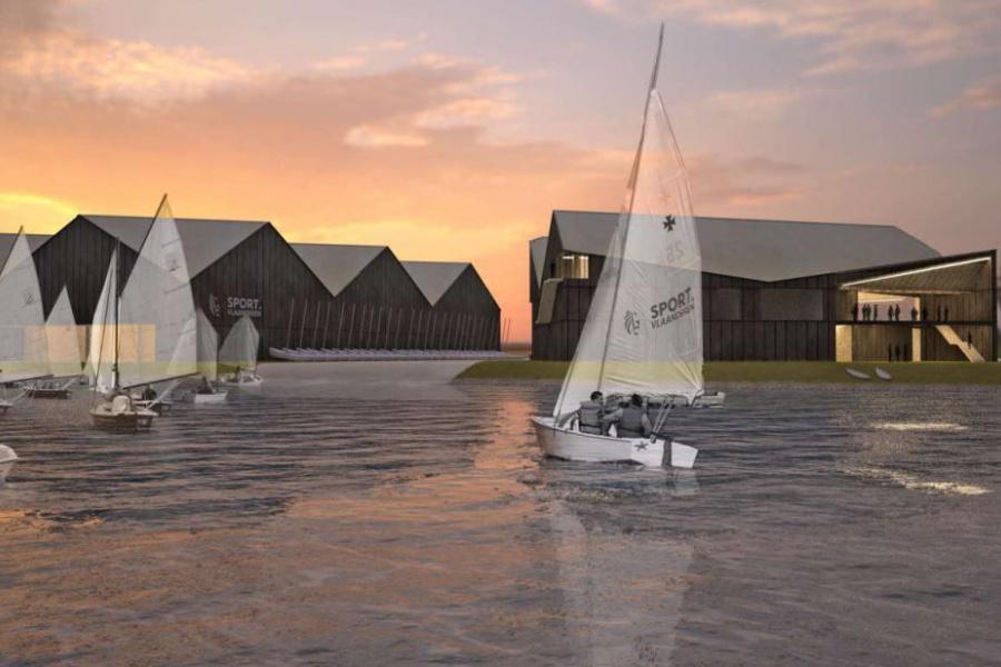 Concept botenloods in Nieuwpoort grote winnaar