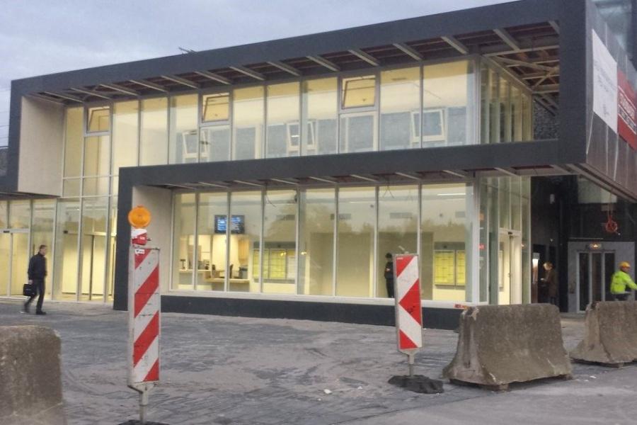 Nieuw stationsgebouw in Liedekerke