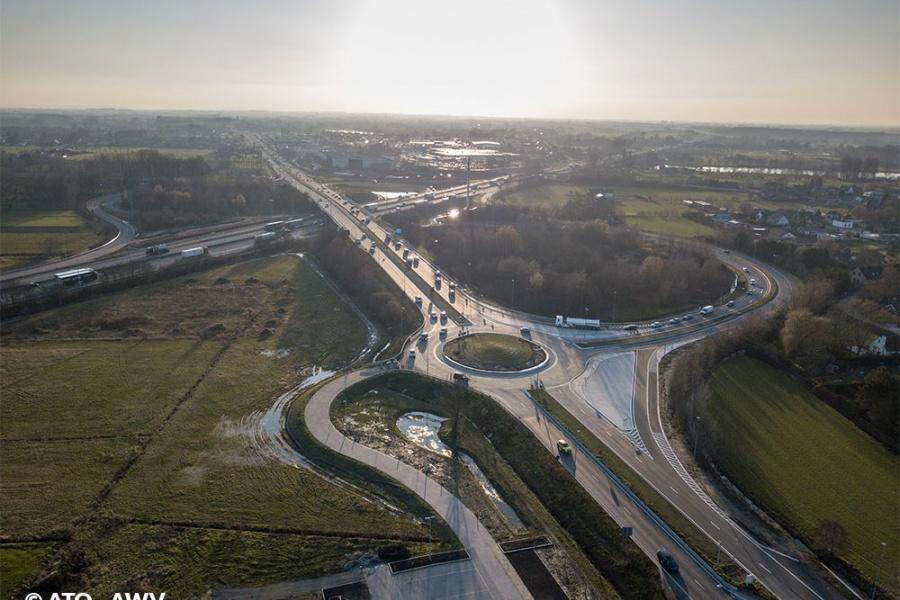 Le complexe d'entrée et de sortie de De Pinte a été officiellement inauguré