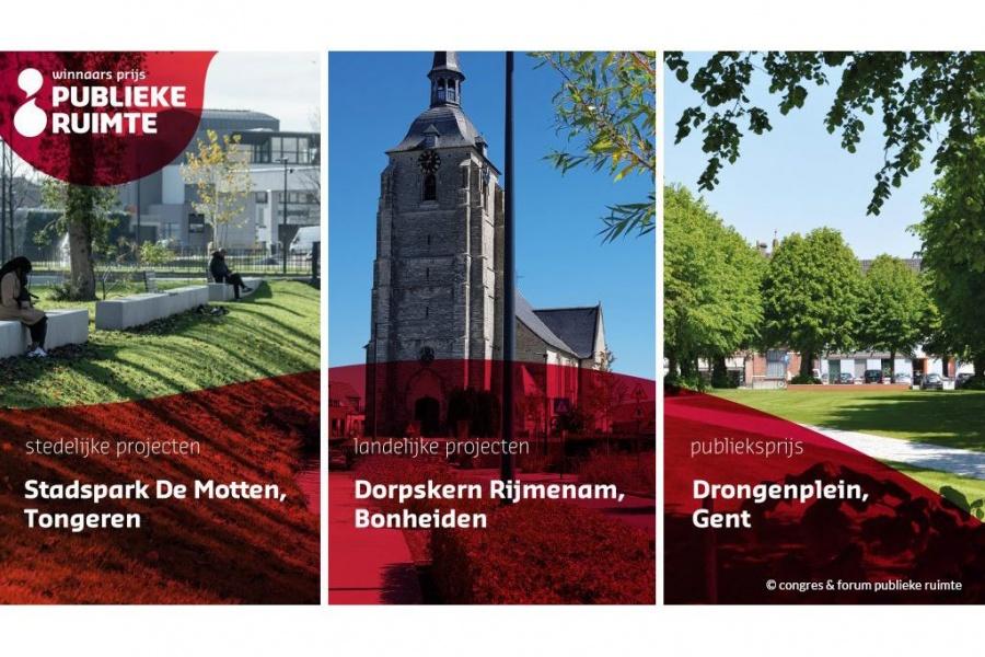 Dorpskern Rijmenam beste openbare ruimte van Vlaanderen