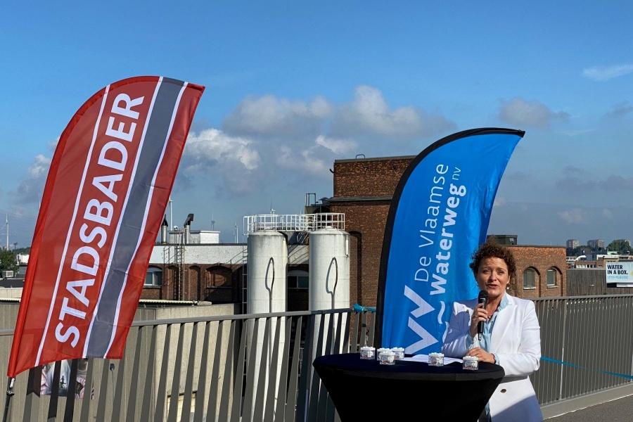 Nieuwe Theunisbrug in Antwerpen feestelijk geopend