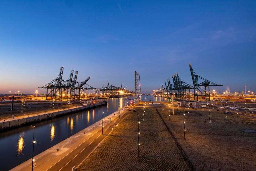 Deurganckdok Haven Antwerpen