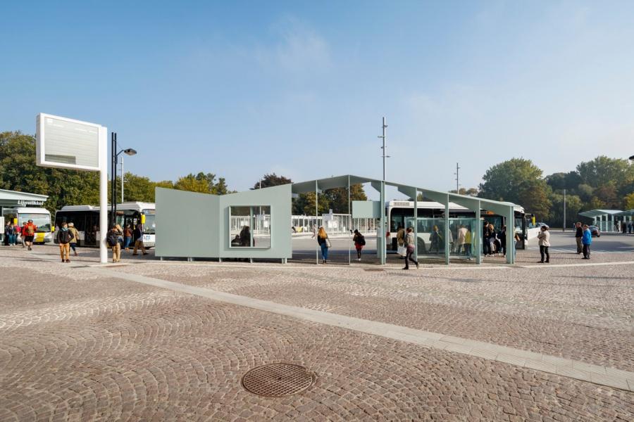 Stationsomgeving Brugge