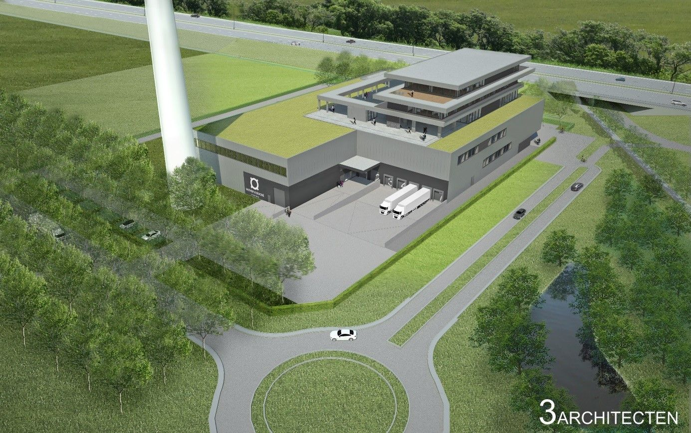 Stadsbader construit la nouvelle implantation de « Wever & Ducré »