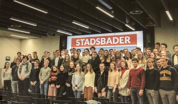 Stadsbader participe à la semaine de l'inspiration