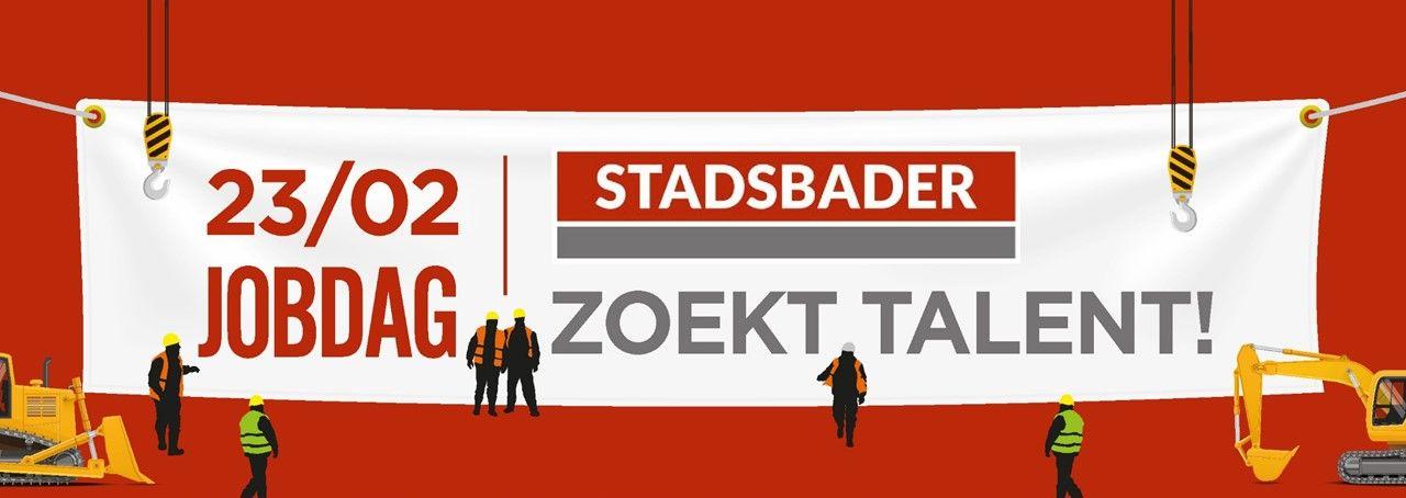 Stadsbader cherche des nouveaux talents lors de jobday