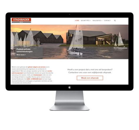 Stadsbader pakt uit met nieuwe en verfrissende website